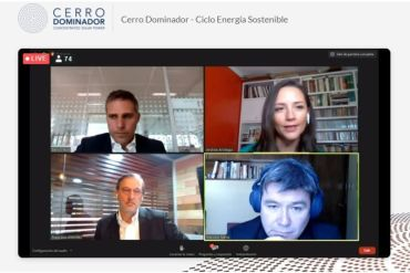 """Ciclo de Energía Sostenible Cerro Dominador """"Inversiones para enfrentar el cambio climático"""""""
