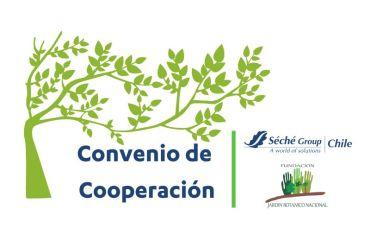 Jardín Botánico Nacional y Séché Group Chile firman Convenio de Cooperación para preservar la biodiversidad