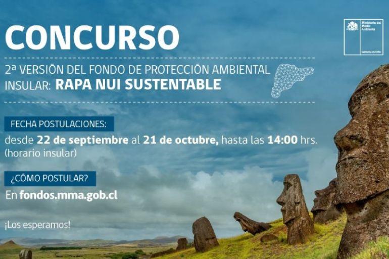 Ministerio del Medio Ambiente lanzó concurso del Fondo de Protección Ambiental Insular: Rapa Nui Sustentable