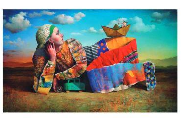 """""""100 artistas x Chile"""": campaña reúne obras de diferentes artistas visuales para ir en ayuda de familias afectadas por la pandemia"""