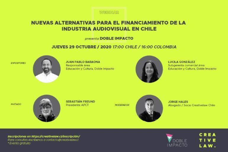 Abren nuevas alternativas de financiamiento para la industria audiovisual en Chile