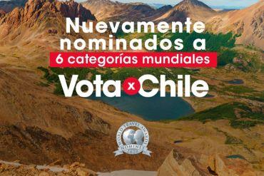 Vota por Chile: el país busca coronarse como el mejor destino turístico del mundo