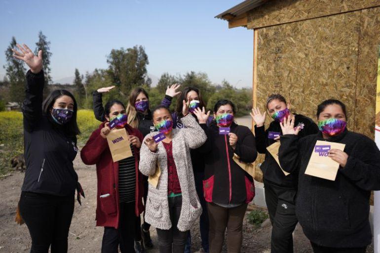 Hazlo X Chile logra 250 mil comidas y 1 millón de minutos de conectividad para campamentos del país