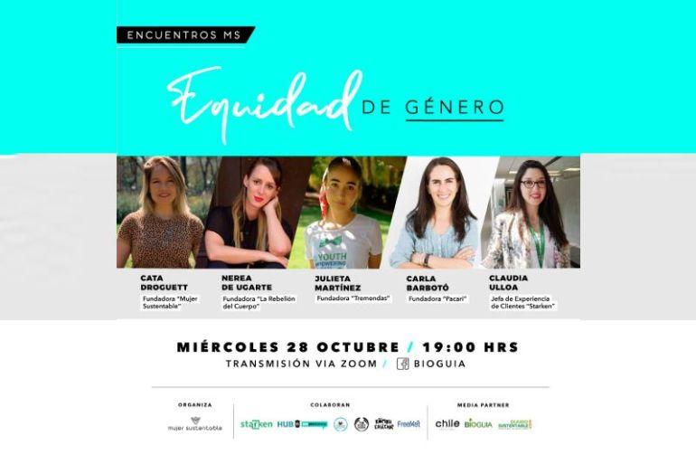 """""""Encuentro Mujer Sustentable: Equidad de género"""""""