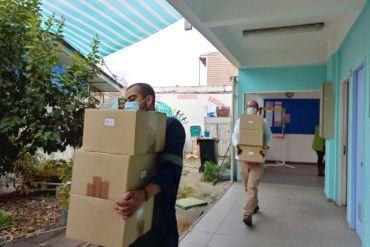 BASF Chile realiza la donación de 1.800 cajas de alimentos a comunidades de Quinta Normal, Concón y Quintero