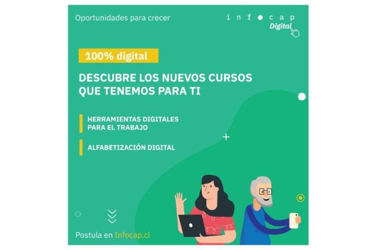 Infocap abre postulaciones para cursos online gratuitos de herramientas digitales para el trabajo