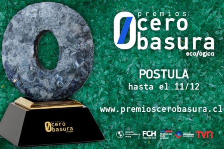 Premios Cero Basura 2021: comienzan las postulaciones para el certamen verde que busca visibilizar las acciones de empresas, instituciones y personas que estén apoyando la economía circular