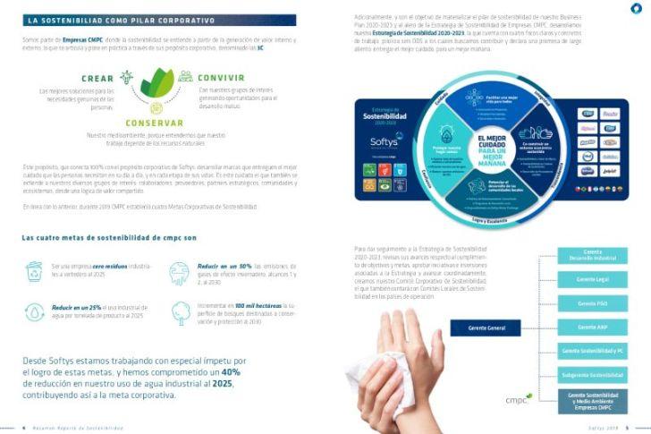 Softys da a conocer su gestión en materias de sostenibilidad con alcance para los 8 países de Latinoamérica
