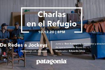 De redes de pesca a viseras: nueva charla de Patagonia sobre innovación y reciclaje en Chile