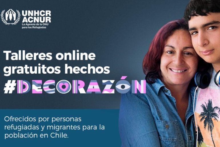 Lanzan inédita plataforma digital que conecta a personas migrantes, refugiadas y chilenas a través de talleres gratuitos