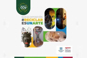 Obras seleccionadas del concurso #reciclaresunarte se exponen en sala de arte CCU virtual – foco social