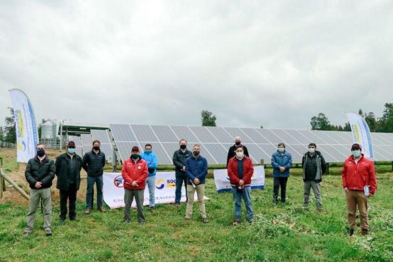 Enerpa y Cooprinsem inauguraron planta solar fotovoltaica más grande de la región de Los Lagos