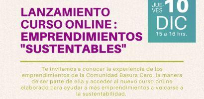 """Fundación Basura lanzará nuevo curso online sobre """"Emprendimientos Sustentables"""""""