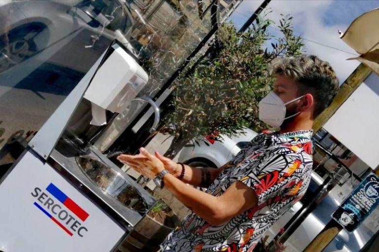 Sercotec hace entrega de Kits de Sanitización para fortalecer sectores comerciales del país