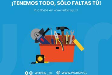 Workin, la app de INFOCAP abre proceso de postulación para profesionales