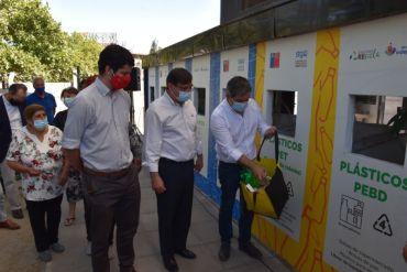 Inauguran en la comuna de Independencia un nuevo Punto Limpio de la Red de Reciclaje Santiago Recicla