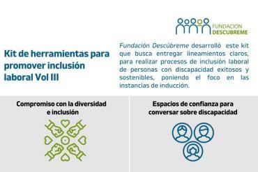 Fundación Descúbreme lanza Kit de herramientas para promover inclusión laboral