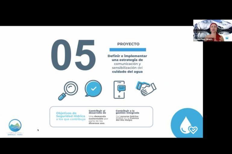 Fondo de Agua Santiago- Maipo lanza Plan Estratégico a cinco años para contribuir a la seguridad hídrica de la cuenca del río Maipo