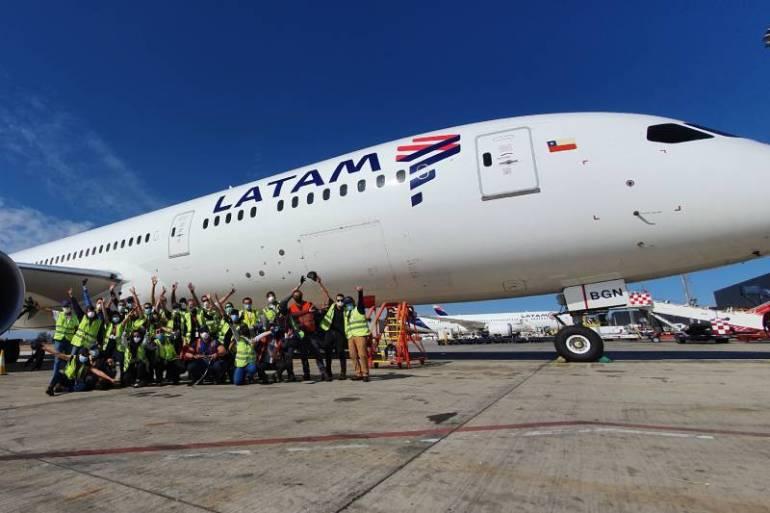 LATAM es reconocida como la mejor aerolínea de la región y la segunda a nivel mundial en sostenibilidad en anuario 2021 del Índice Dow Jones de Sostenibilidad (DJSI)