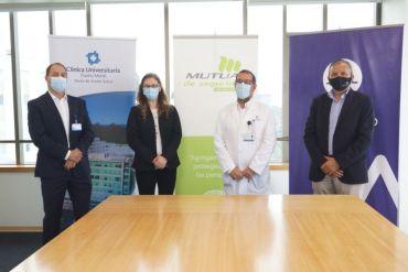 Clínica Universitaria Puerto Montt suscribe convenio con Mutual de Seguridad que beneficiará a 110.310 trabajadores de la X Región