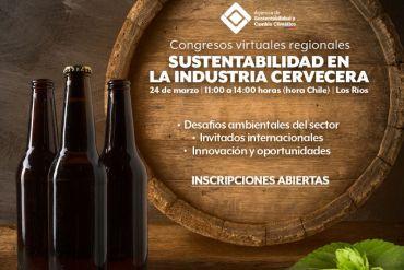 Expertos internacionales abordarán desafíos y oportunidades en Congreso de cervecería sustentable