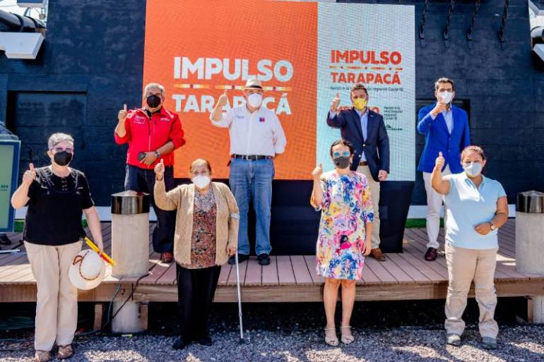 112 emprendedores de la región de Tarapacá se reactivan con la cuarta entrega de Impulso Tarapacá de Collahuasi