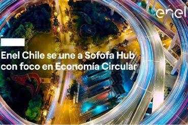 Enel Chile se incorpora como nuevo socio estratégico del Sofofa Hub