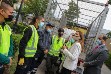 Ministra Schmidt informa el inicio de la ley de reciclaje para los envases y embalajes que establece ambiciosas metas