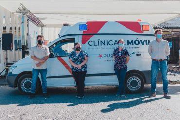 Campaña de vacunación contra Covid-19 llega a sectores rurales a través de las Clínicas Móviles de Desafío Levantemos Chile y CMPC