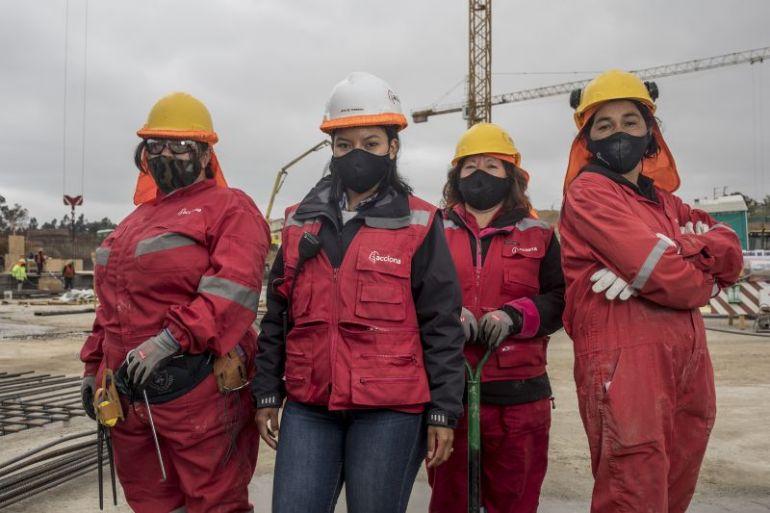 ACCIONA inicia la construcción del edificio de sala cuna  del Hospital Marga Marga con equipo integrado solo por mujeres