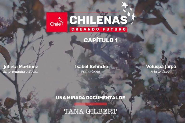 """Imagen de Chile lanza serie de microdocumentales """"Chilenas Creando Futuro"""""""