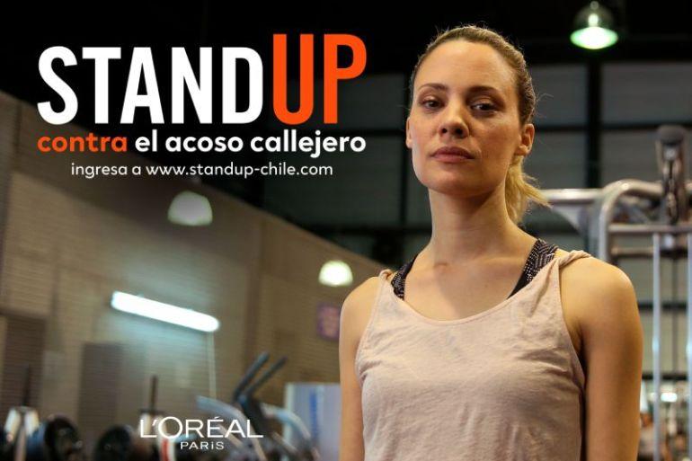 L'Oreal Paris lanza en Chile el programa mundial Standup contra el acoso callejero