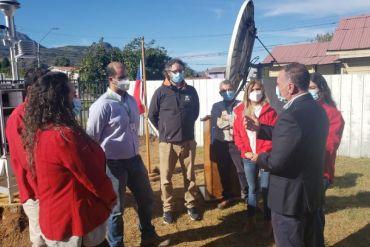 Inauguran nueva estación de monitoreo de calidad del aire para la ciudad de Cochrane