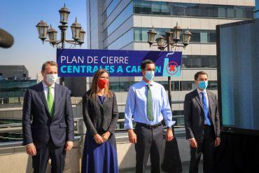 Energías renovables para Chile: Gobierno anuncia el retiro del 50% de las centrales a carbón al 2025