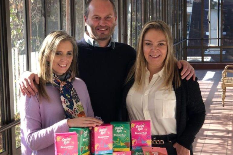 Smiley Kids Food: emprendimiento chileno desarrolla compotas, cereales y snacks orgánicos para bebés, niños y niñas