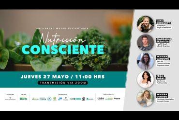 """""""Encuentro Mujer Sustentable: Nutrición Consciente"""