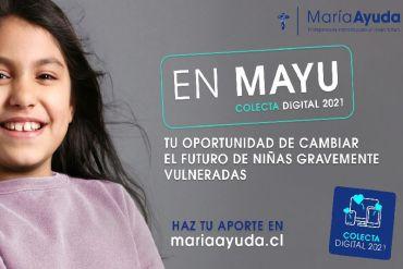 María Ayuda realiza nueva colecta en  favor de la niñez vulnerada