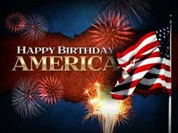 Happy independence day july 4