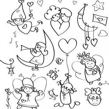 Imagenes De Amor Dibujos Animados Lapiz Corazones Fotos De Amor