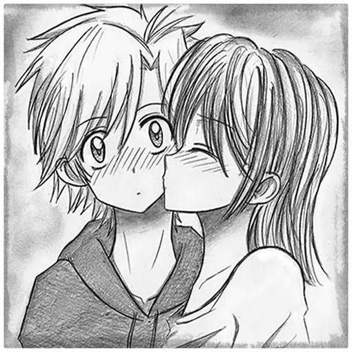 Imagenes De Dibujos Amor A Lapiz
