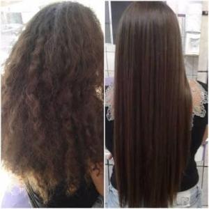Botox para el pelo Cómo aplicar en niñas