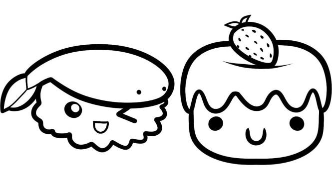 dibujos faciles kawaii