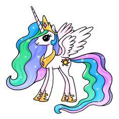 ca2b84fd54394ac36efbaaeb0849a49f--princess-celestia-pony
