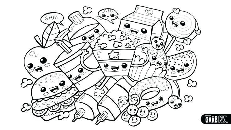 Chica Kawaii Para Colorear Para Para Para Para Dibujos De Chicas