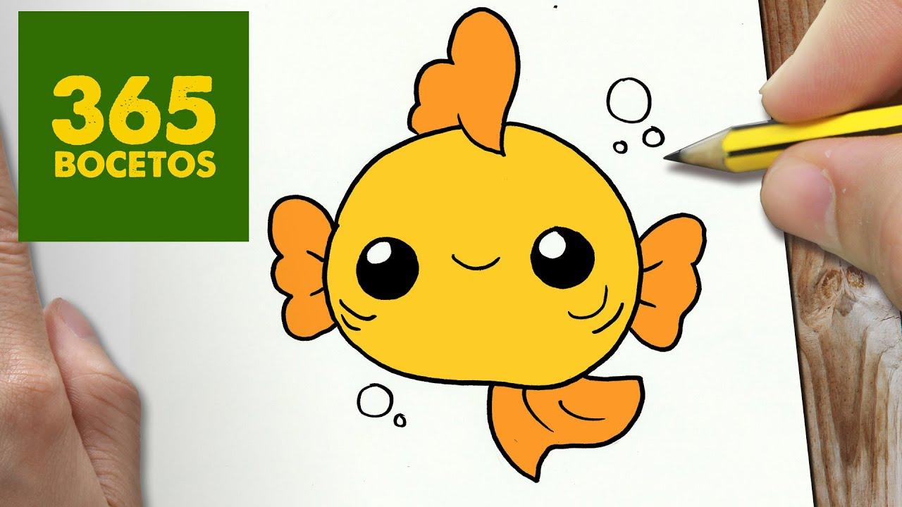 Dibujos De Disney Fáciles De Colorear: Dibujos Kawaii Para Colorear Fáciles