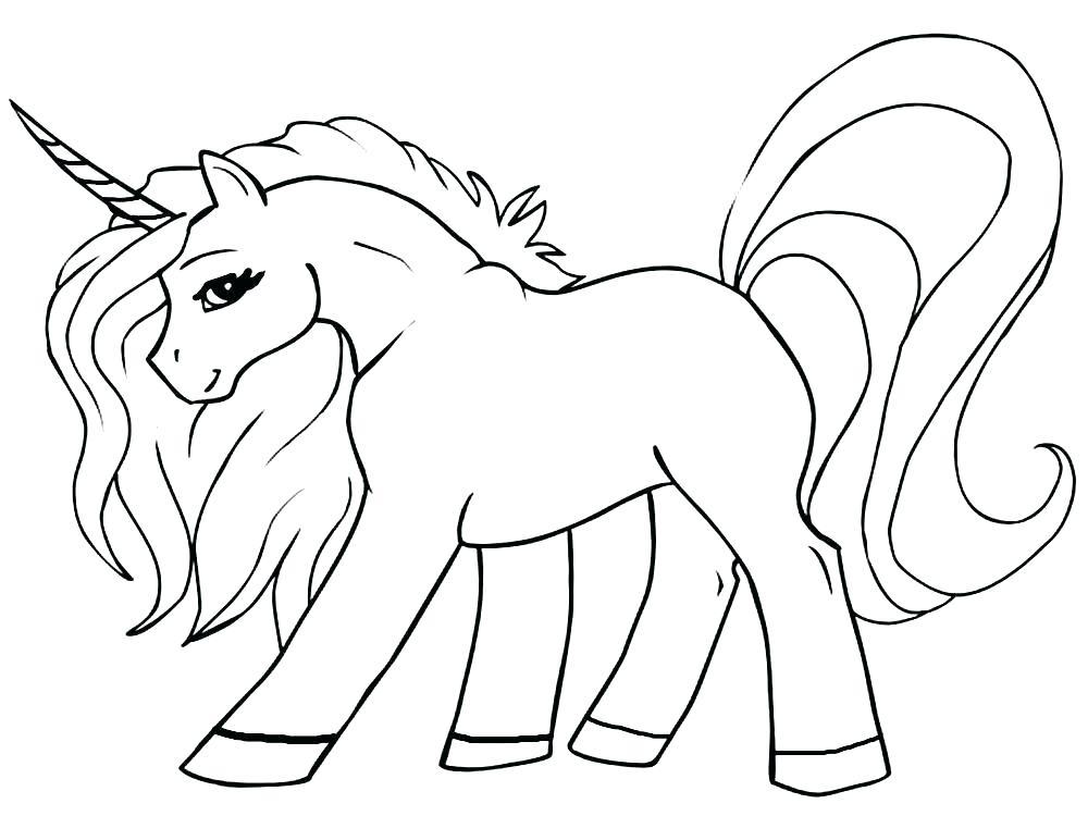Pagina Para Colorear Unicornio Para Para Para Para La Gratis Para