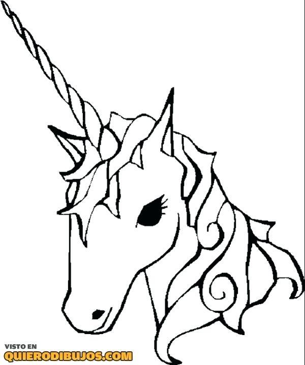 Pagina Para Colorear Unicornio Para S Dibujo Para Pintar