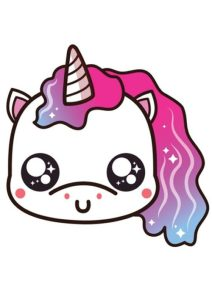 cabeza-de-unicornio-kawaii