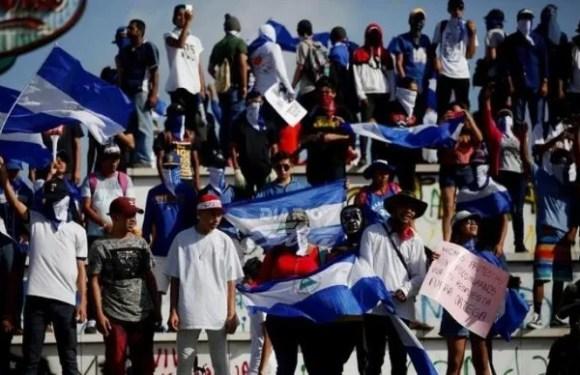"""Nicaragua marcha por libertad de """"reos políticos"""" en Nicaragua deja 1 muerto y 2 heridos"""