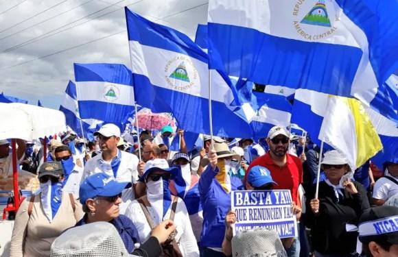 Nicaragüenses piden salida de Ortega, tras 4 meses de protestas